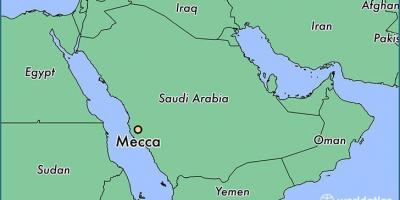 Mekka Mekka Kart Kart Mekka Mekka Saudi Arabia